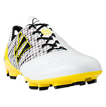 Gambler S-Lite FG, White with Silver & Yellow