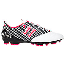 Gambler S-Lite FG, White with Black & Neon Pink