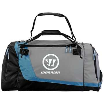 Space Shuttle Duffel Bag, Black with Grey & Blue