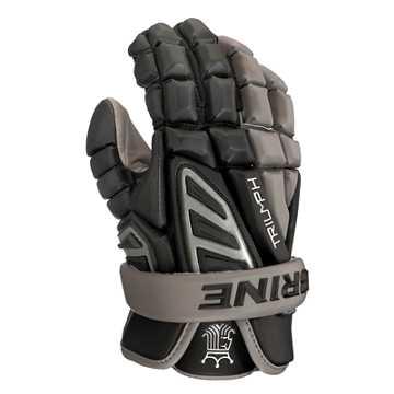 Triumph III XL glove, Black with Grey
