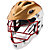 TII Custom Painted Helmet, Gold with White & Red