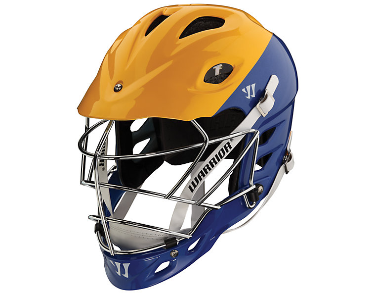TII Custom Painted Helmet, Blue with Gold