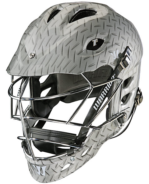 TII Custom Hydrographic Helmet, Grey with Silver