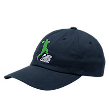 NB LAX Snap Back, Navy with Green