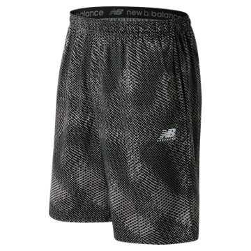 Pattern Short, Black