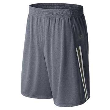 LAX Braid Reverse Shorts, Gunmetal