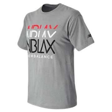 NB LAX Faded Tee, Athletic Grey
