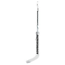 Wave Goalie Stick, White with Black & Silver