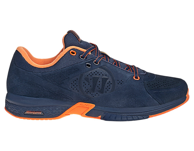 Bushido Remix, Navy with Orange