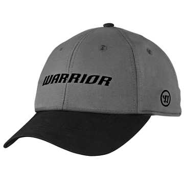 Warrior Corp Cap , Black with Heather Charcoal