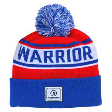 Warrior Classic Toque, Royal Blue with Red & White