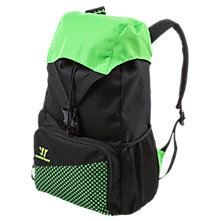 Gambler Backpack, Black with Jazz Green