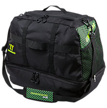 Gambler Holdall, Black with Jazz Green