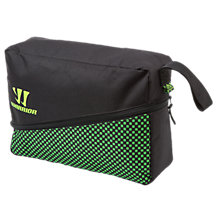 Gambler Shoe Bag, Black with Jazz Green
