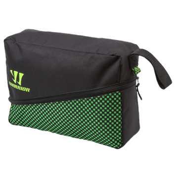 Gambler Shoe Bag, Black with Jazz Green
