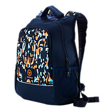 Medium Skreamer Backpack, Insignia Blue with Blue Radiance & Bright Marigold