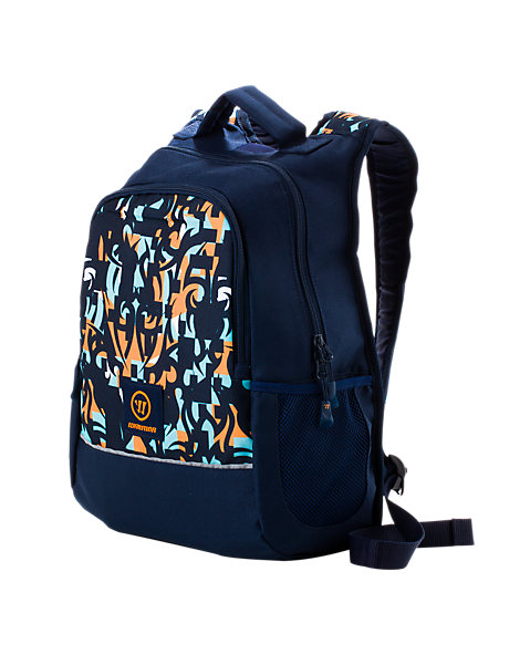 Skreamer Medium Backpack, Insignia Blue with Blue Radiance & Bright Marigold