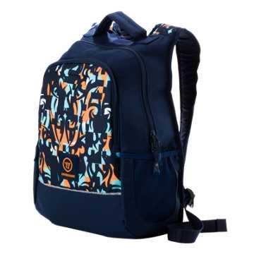 Medium Skreamer Backpack, Insignia Blue with Blue Radiance & Bright Marigold