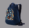 Small Skreamer Backpack, Insignia Blue with Blue Radiance & Bright Marigold