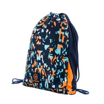 Skreamer Gym Bag, Insignia Blue with Blue Radiance & Bright Marigold