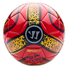 Superheat Combat Ball, Red with Yellow