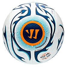 Skreamer League Ball, White with Blue & Blue