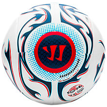 Skreamer League Ball, White with Navy & Red