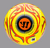 Skreamer Match HI VIS Ball, Fluorescent Yellow