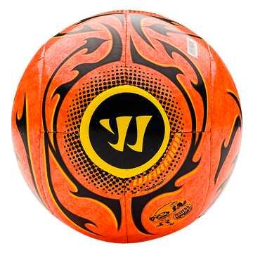 Skreamer Mini Ball, Orange with Ebony & Cyber Yellow