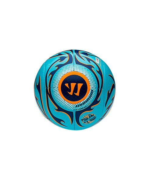 Skreamer Mini Ball, White with Blue Radiance & Insignia Blue