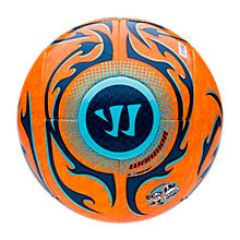 Skreamer Futsal Ball, Bright Marigold with Blue Radiance & Insignia Blue