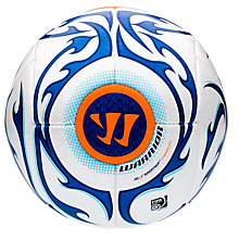 Skreamer Match Ball, White with Blue & Blue