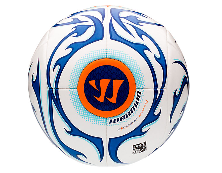 Skreamer Training Ball, White with Blue Radiance & Insignia Blue