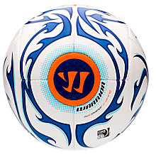Skreamer Training Ball, White with Blue & Blue