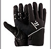Player Glove, Black with Silver