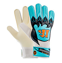 Skreamer G-Lite Junior Goalkeeper Gloves, White with Blue & Blue