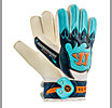 Skreamer Sentry Goalkeeper Gloves, White with Blue Radiance & Insignia Blue