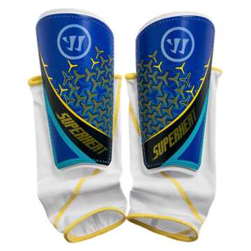 Superheat Sentry Shinguard, Blue with Aviator & Cyber Yellow