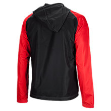 Poly Track Jacket, Red