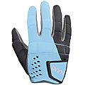 Dynasty Glove, Carolina Blue with Black