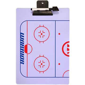 Hockey Clipboard, White