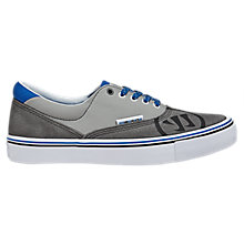 Youth Deke Jr., Grey with Blue