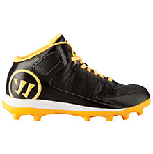 Vex 3.0 Youth Cleat, Black with Orange