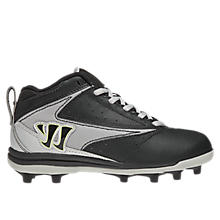 Youth Vex Cleat, Black with White