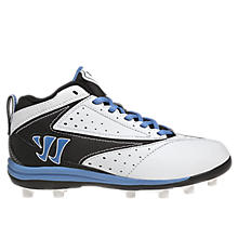 Youth Vex Cleat - Rabil Edition, White with Navy & Blue