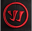 Youth Logo Flex Cap, Black with Red
