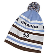 Rec Department Beanie, Grey with White & Blue