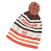 Rec Department Beanie, Red with White & Brown