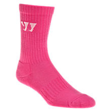 Crew Socks (Single), Neon Pink