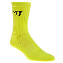 Crew Socks (Single), Neon Yellow